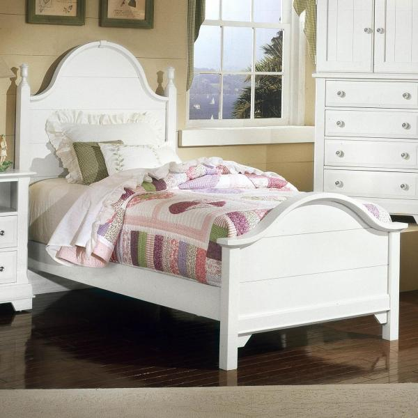 Vaughan Bassett Cottage Twin Panel Bed Belfort Furniture