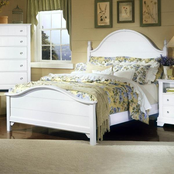 Vaughan Bassett Cottage Full Panel Bed Belfort Furniture