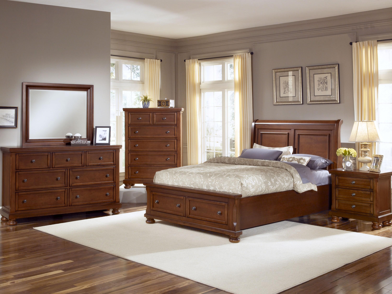 Vaughan Bassett Reflections King Bedroom Group  Belfort