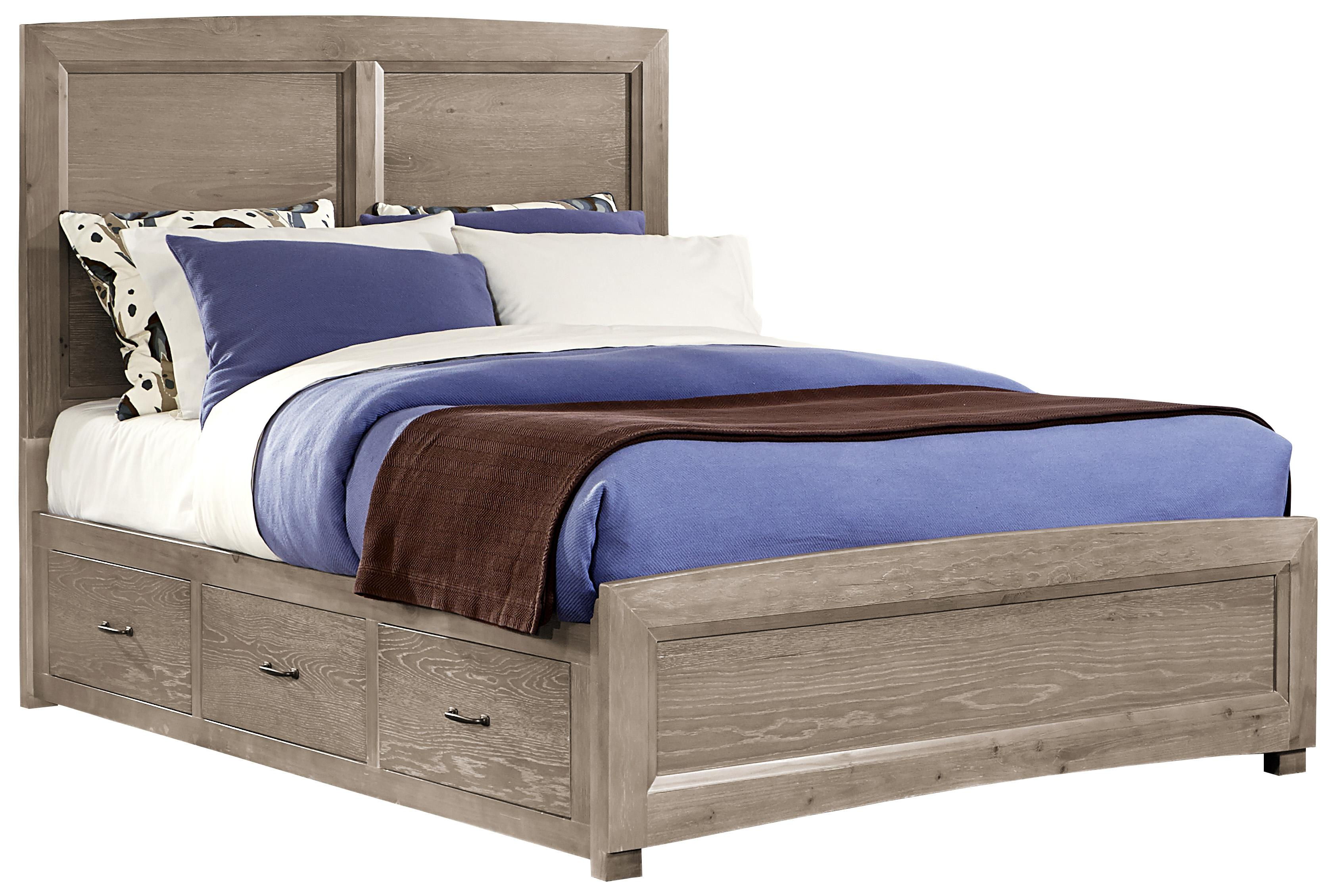 Vaughan Bassett Transitions King Panel Bed With 1 Side