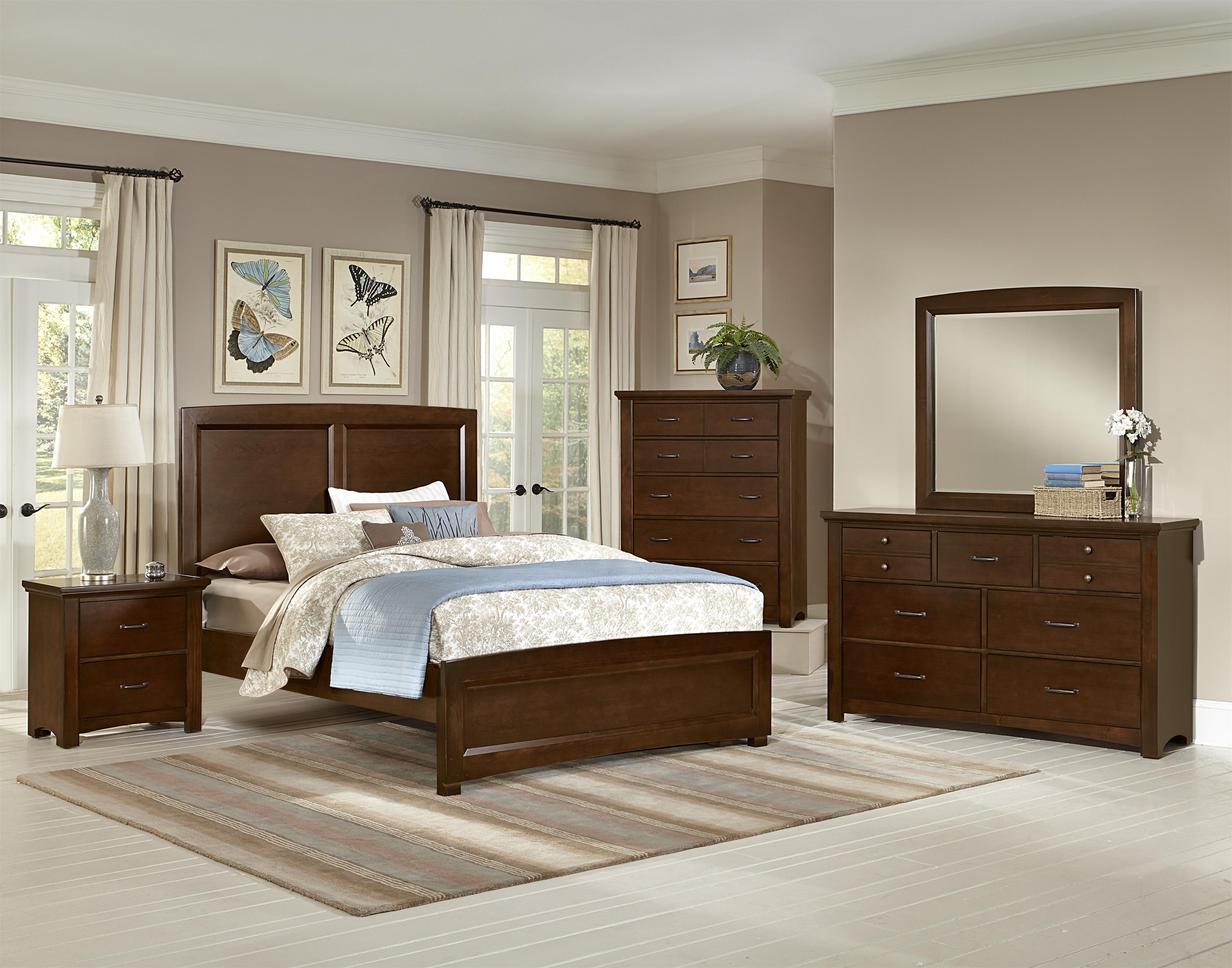 Vaughan Bassett Transitions Queen Bedroom Group  Belfort