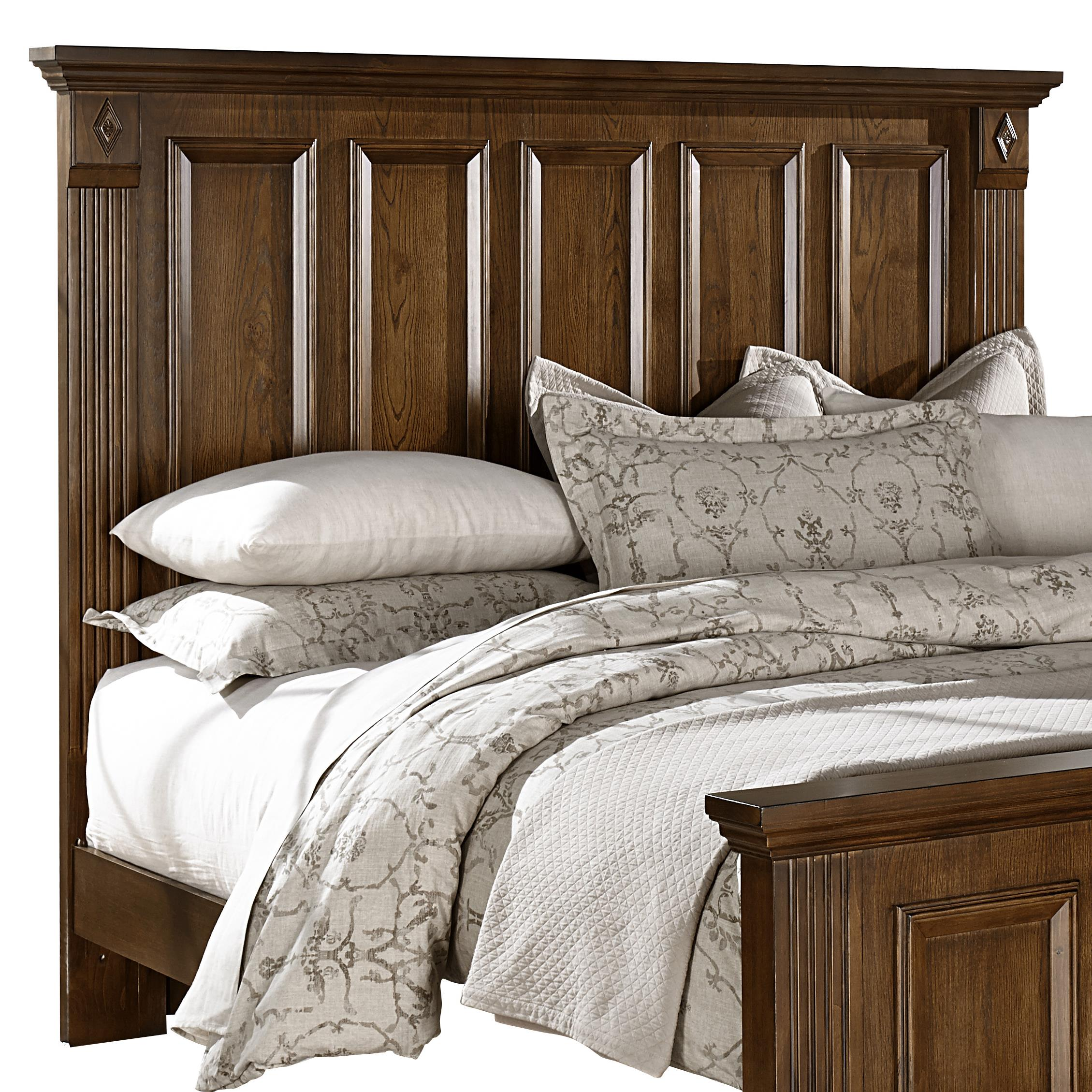Vaughan Bassett Woodlands BB97 669 King Mansion Headboard