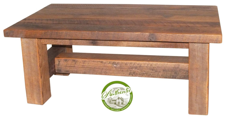 grove reclaimed barnwood cocktail table