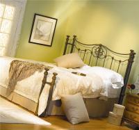 Wesley Allen Iron Beds HOFRP1053Q Dawson Iron Poster Bed ...