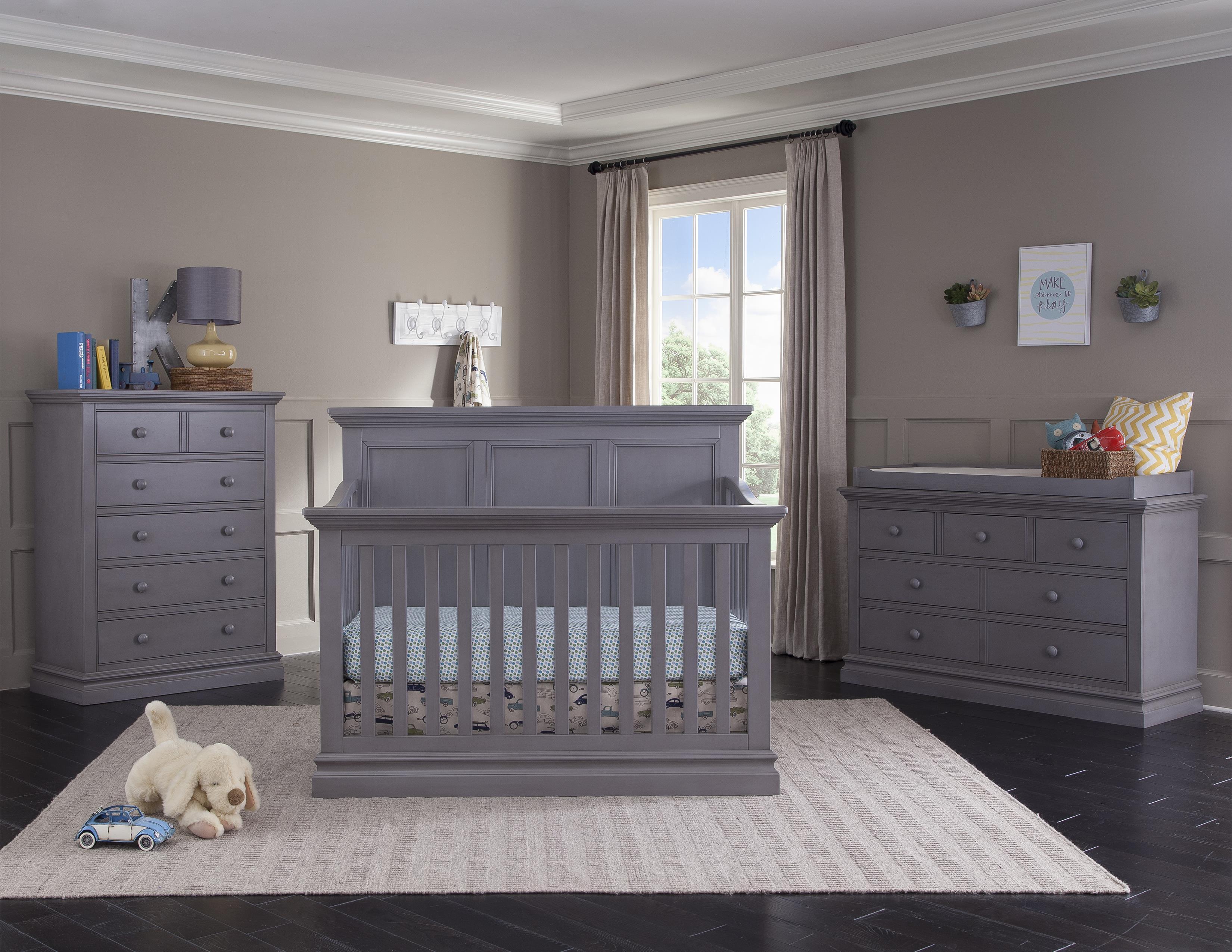 Westwood Design Pine Ridge Convertible Panel Crib  Darvin Furniture  Crib