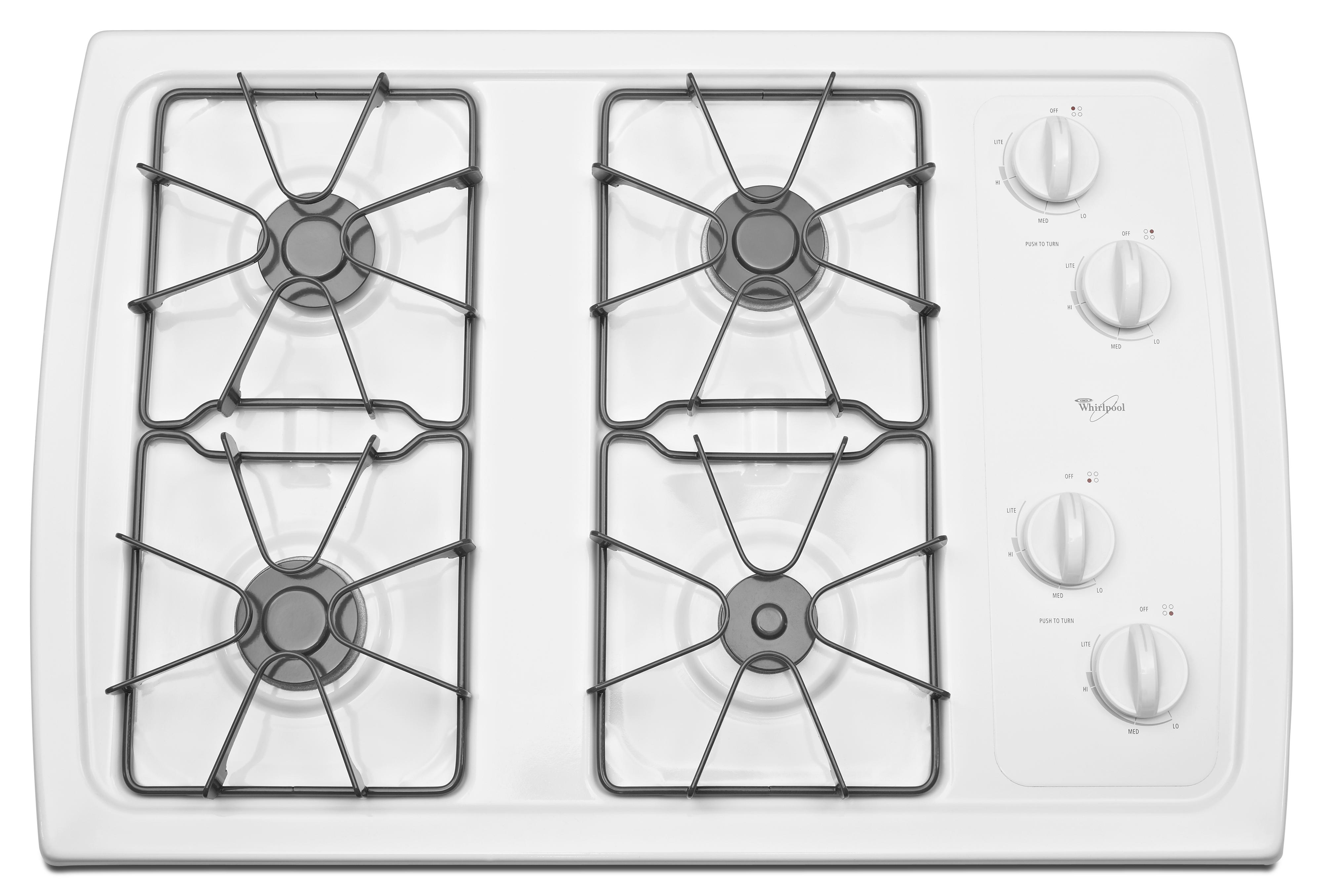 Whirlpool W3cg Xw30 Built In Gas Cooktop With