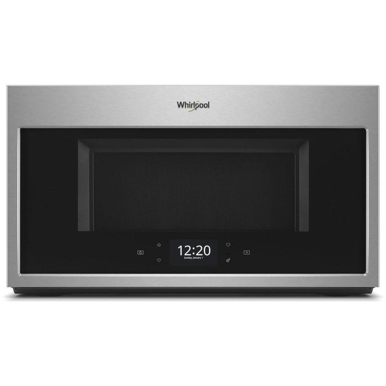microwaves whirlpool 1 9 cu ft smart over the range microwave