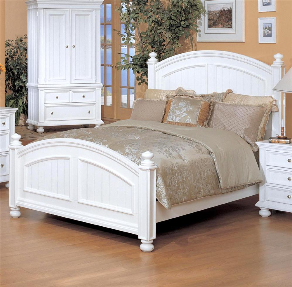 Winners Only Cape Cod Queen Panel Bed  Knight Furniture