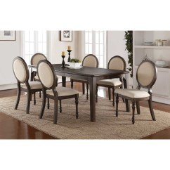 Oval Back Dining Room Chairs Revolving Chair Low Winners Only Daphne Set With Upholstered And