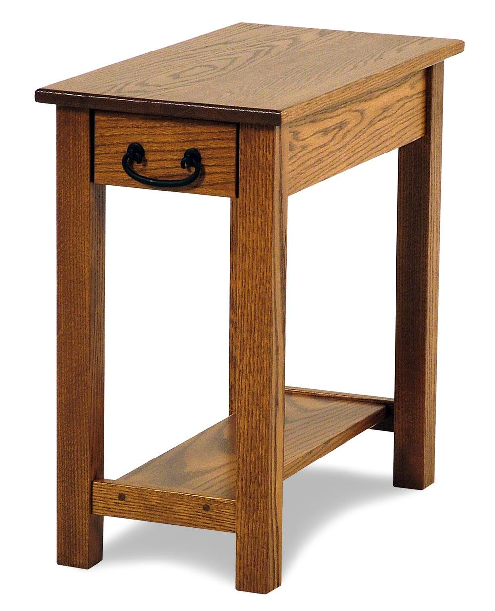 amish built sofa tables corner hd images seeley oak chairside table rotmans end