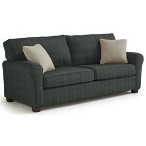 Best Home Furnishings Shannon Queen Sofa Sleepr Baers