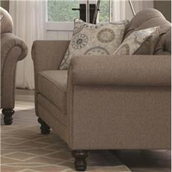 Camel Tufted Sofa Chaise Small Apt Size Sofas Coaster Carnahan Traditional With Reverse ...