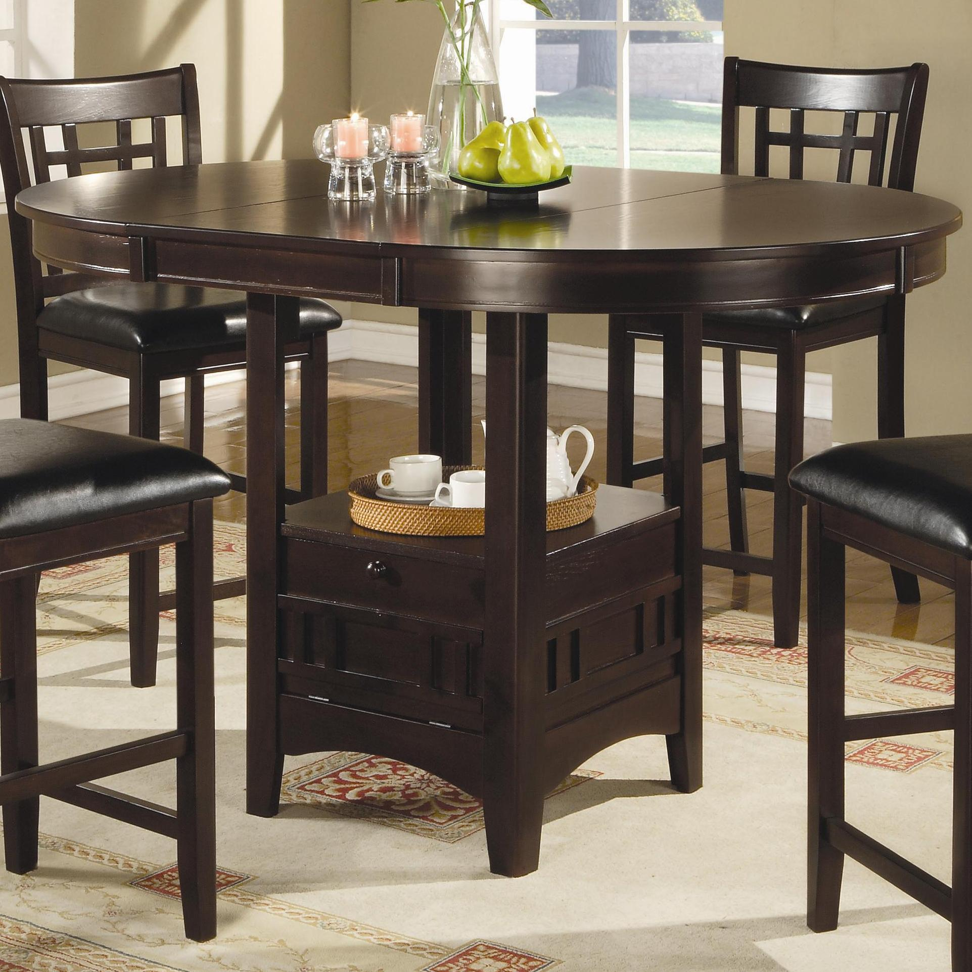 We currently don't have any reviews for this employer. Coaster Lavon Counter Height Table   Value City Furniture ...