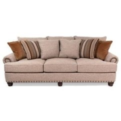Huntington House Sofa Covers Bett Hamilton Leather Reviews Flexsteel Whitney With Turned Arms And Wood Block ...