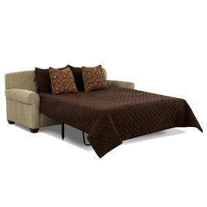 klaussner sleeper sofa mattress options folding futon by homcom signature design ashley levon - charcoal queen ...