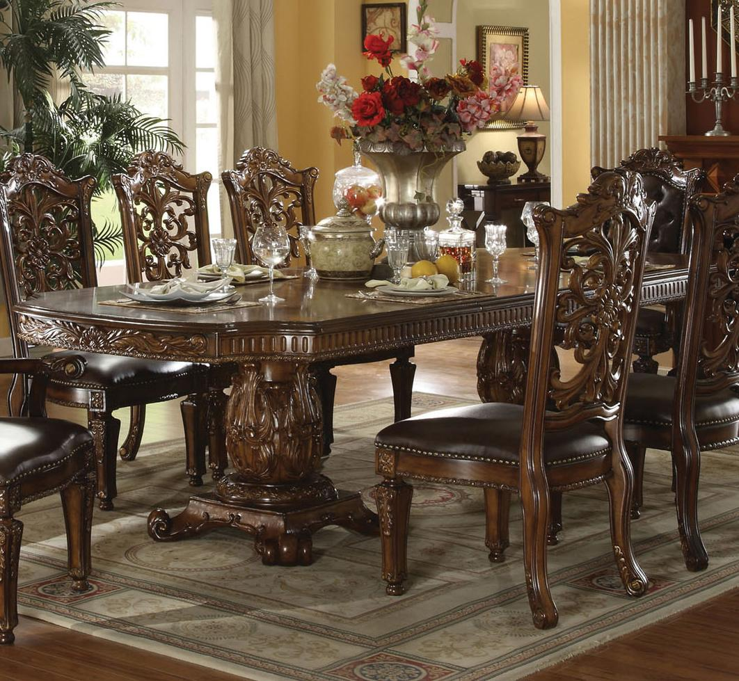 Traditional Dining Room Chairs Acme Furniture Vendome 60000 Traditional Formal Dining