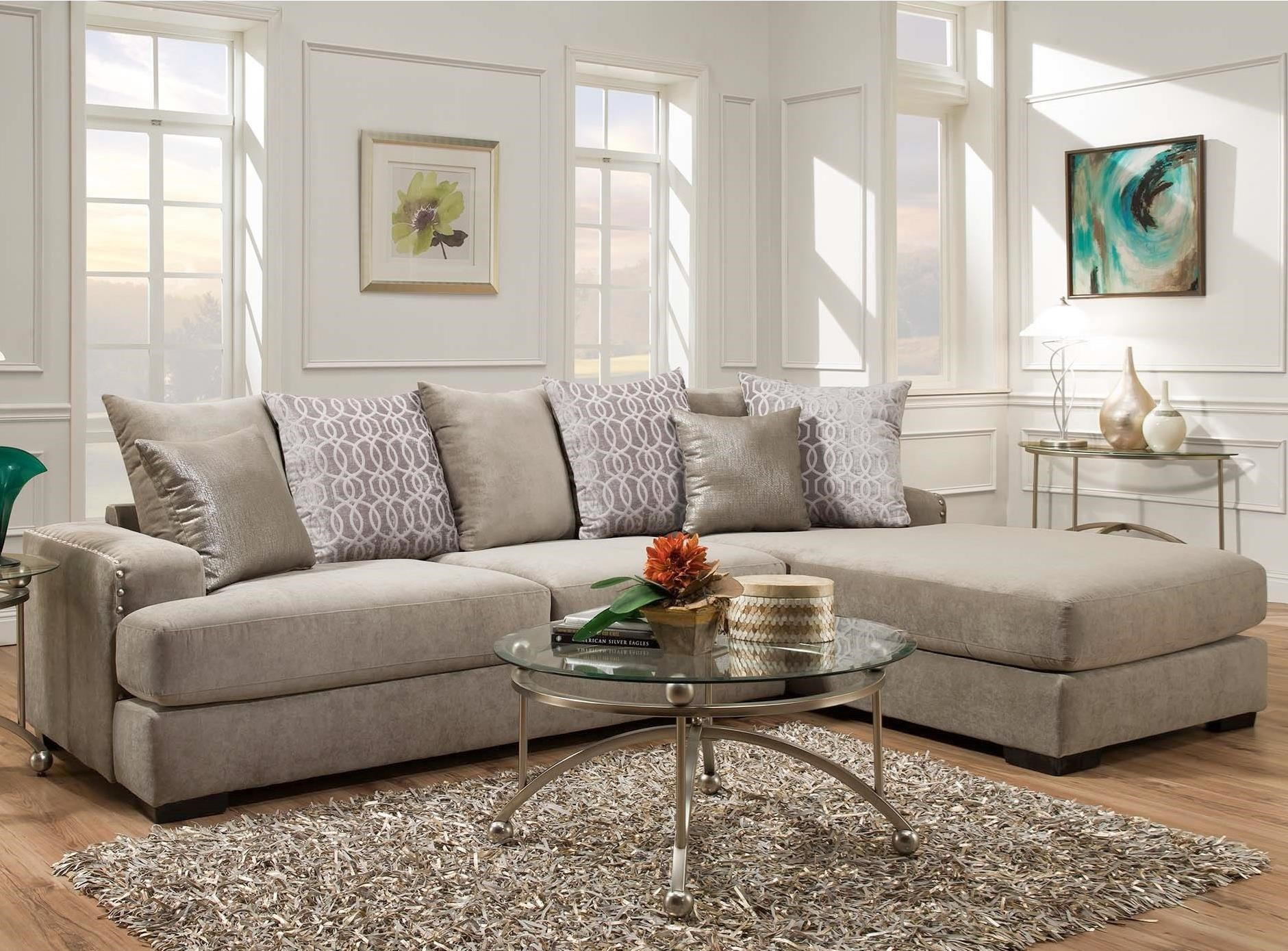 8642 transitional sectional sofa with chaise by albany beds for small places 348 laredo contemporary 2