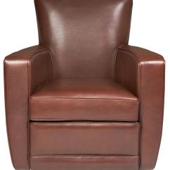 Swivel Accent Chairs Used Banquet Tables And For Sale American Leather Ethan Contemporary Chair