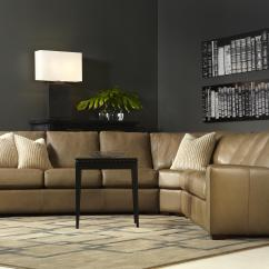 American Leather Sleeper Sofa Price Charcoal Gray Covers Kaden Casual Two Sectional With
