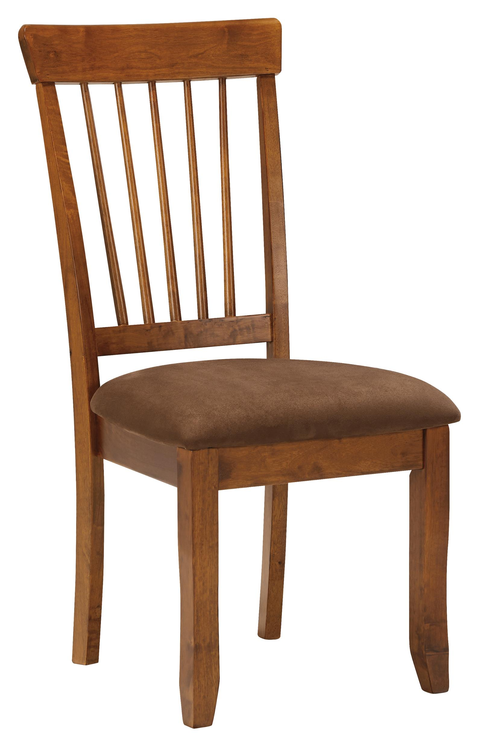 Ashley Dining Room Chairs Ashley Furniture Berringer D199 01 Hickory Stained Side