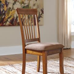 Ashley Furniture Dining Room Chairs Used Banquet For Sale Berringer D199 01 Hickory Stained Side