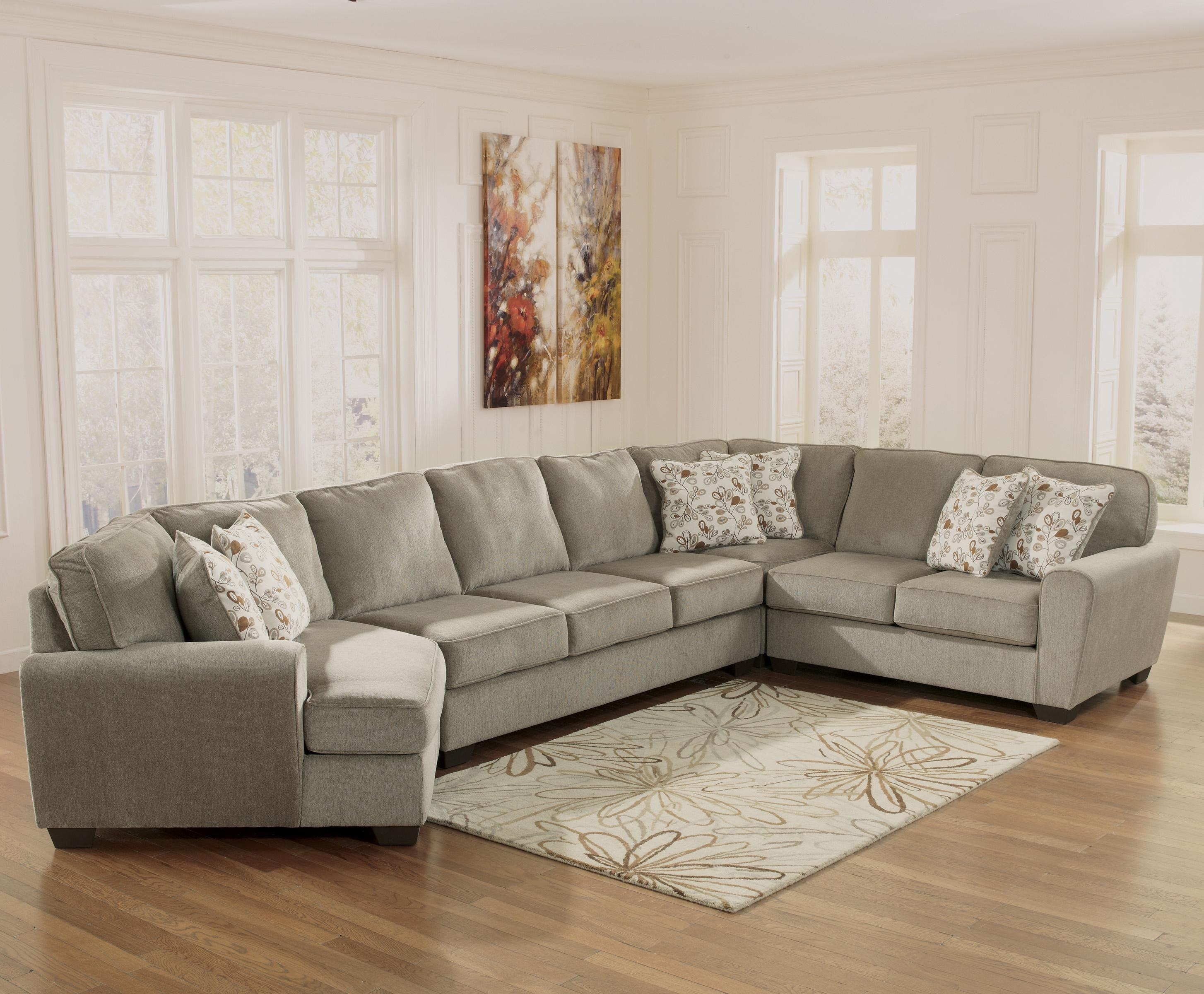 left chaise sofa sectional slipcover marshmallow furniture paw patrol 2 in 1 flip open ashley patola park patina 4 piece