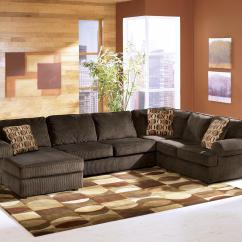Ashley Cohes Sofa Chaise Southern Motion Velocity Reclining Furniture Vista Chocolate Casual 3 Piece