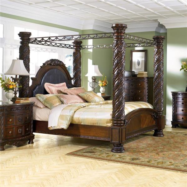 Fantastic Ashley Furniture King Canopy Bed Year Of Clean Water Home Interior And Landscaping Palasignezvosmurscom