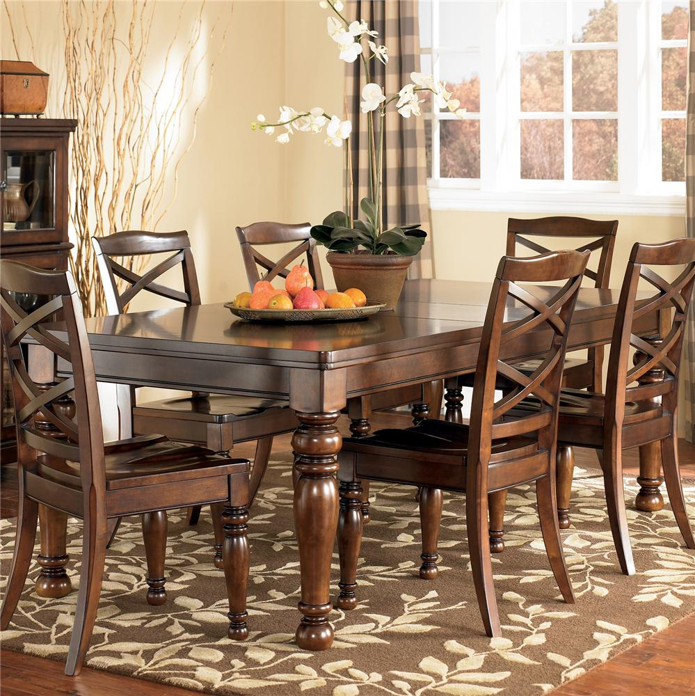 Ashley Furniture Porter Rectangular Extension Dining Table