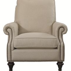 Bassett Furniture Chairs French Dining Singapore Oxford Traditional Accent Chair With Nailhead Trim