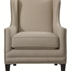 Bassett Furniture Chairs Chair Design Cardboard Accent Fleming With Wing Back