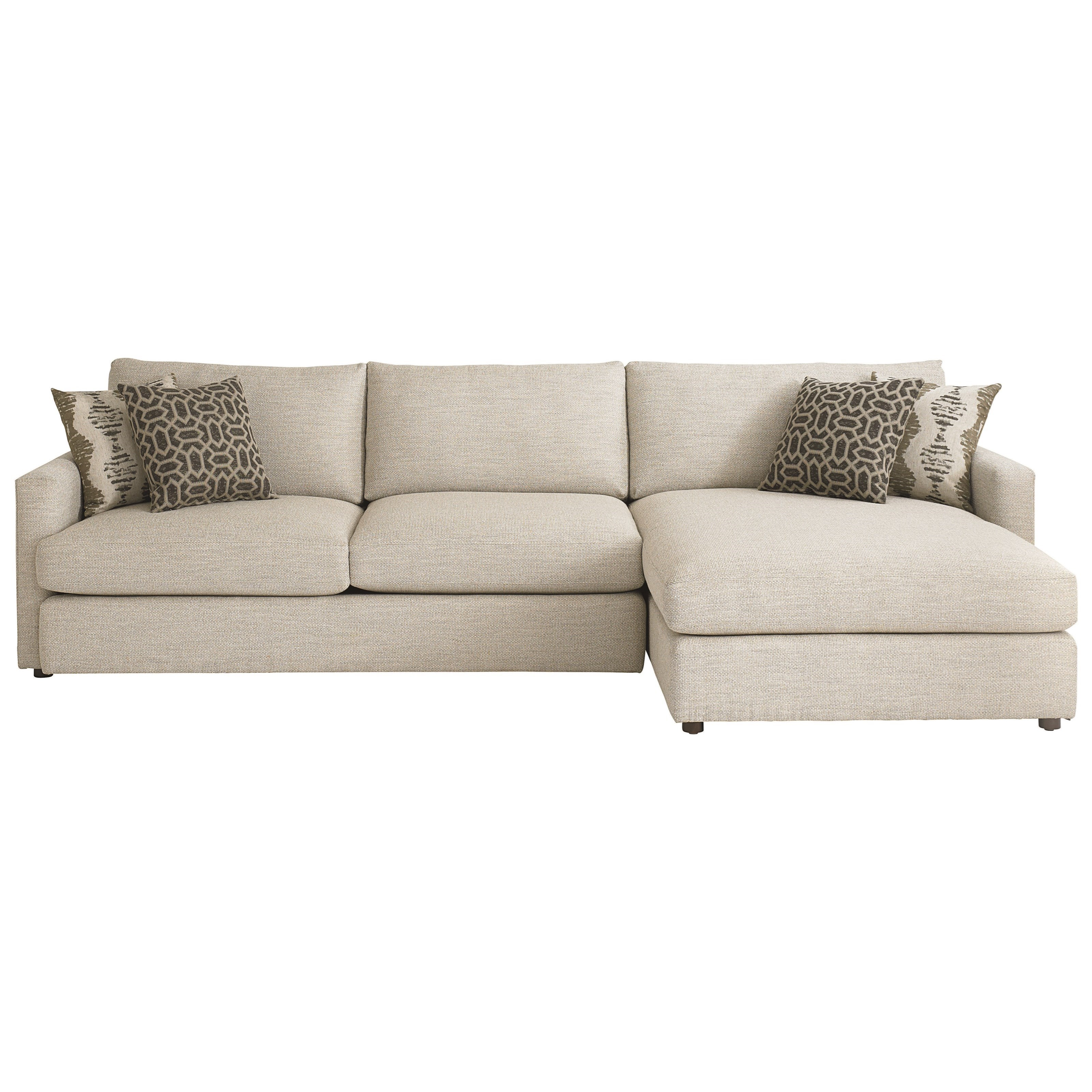 right arm facing sofa left chaise set leather furniture bassett allure contemporary sectional with