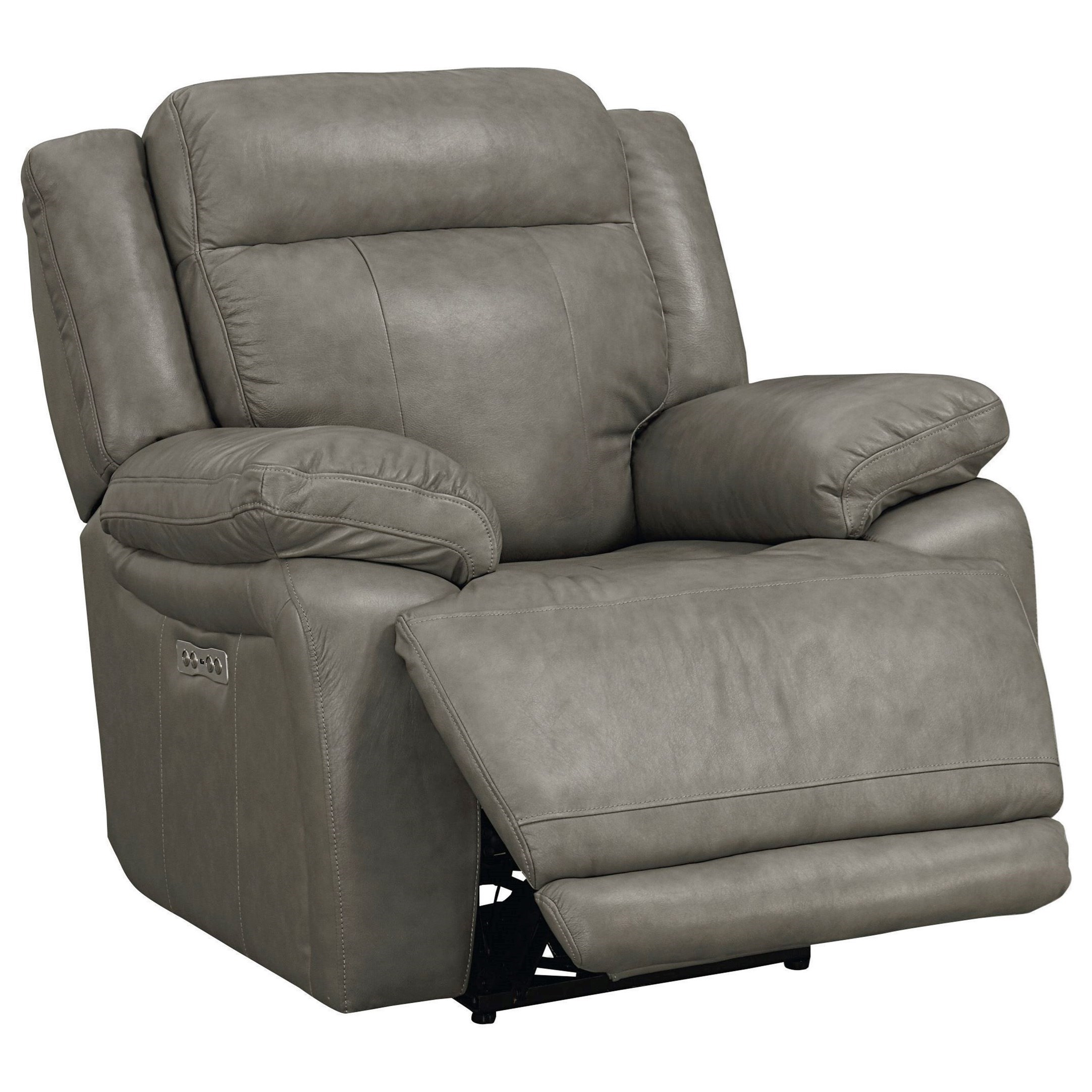 pop up recliner chairs french country dining chair bassett evo 3706 power headrest wall saver