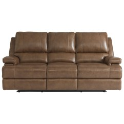 Triple Reclining Sofa Daybed With Trundle Bassett Parker Club Level Double Power