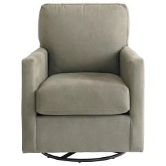 Bassett Furniture Chairs Folding Chair Slipcovers Trent 1144 09 Contemporary Swivel Glider