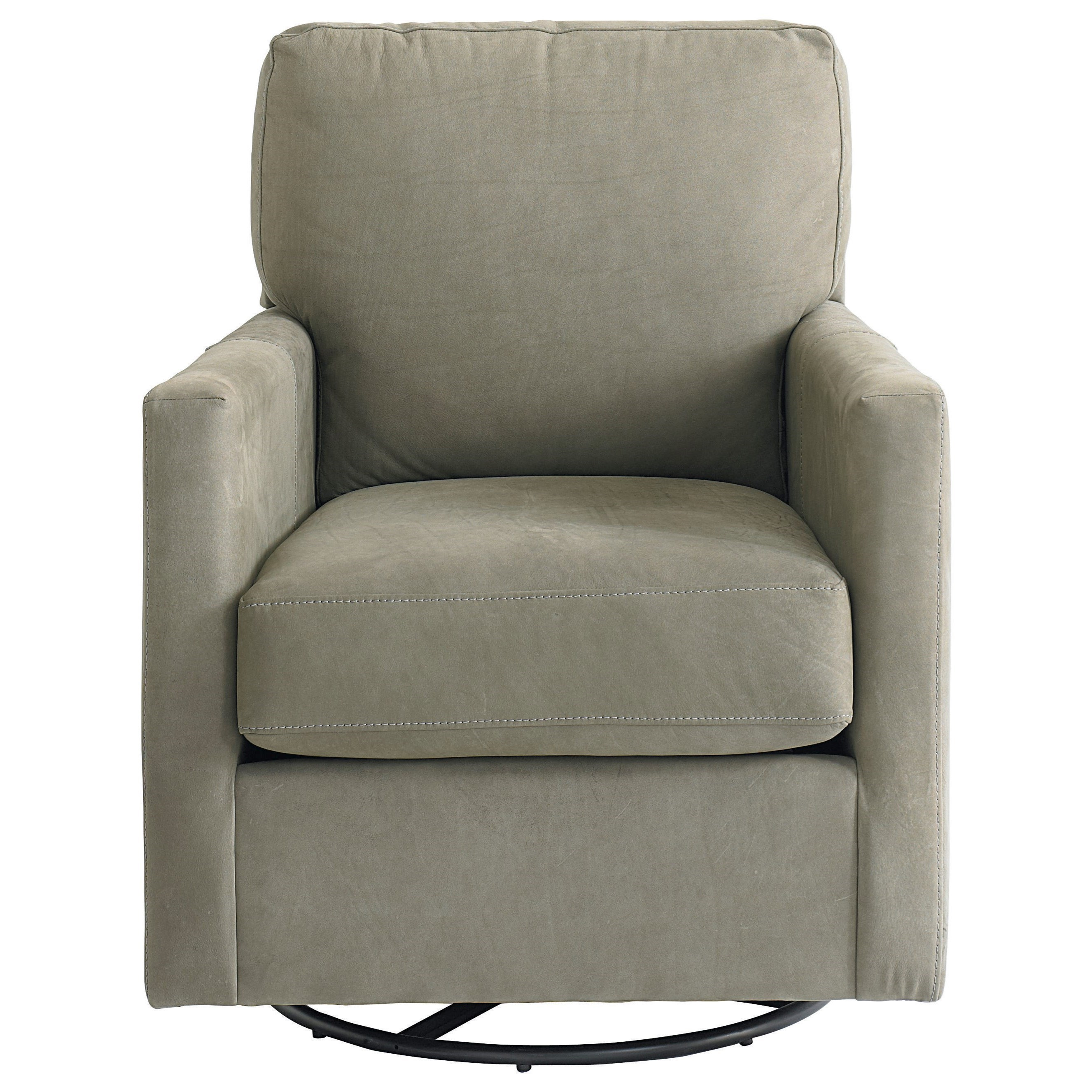 Upholstered Glider Chair Bassett Trent 1144 09 Contemporary Swivel Glider Chair
