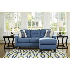 Fabric Queen Sleeper Chaise Sofa Bed Ikea Benchcraft By Ashley Aldie Nuvella