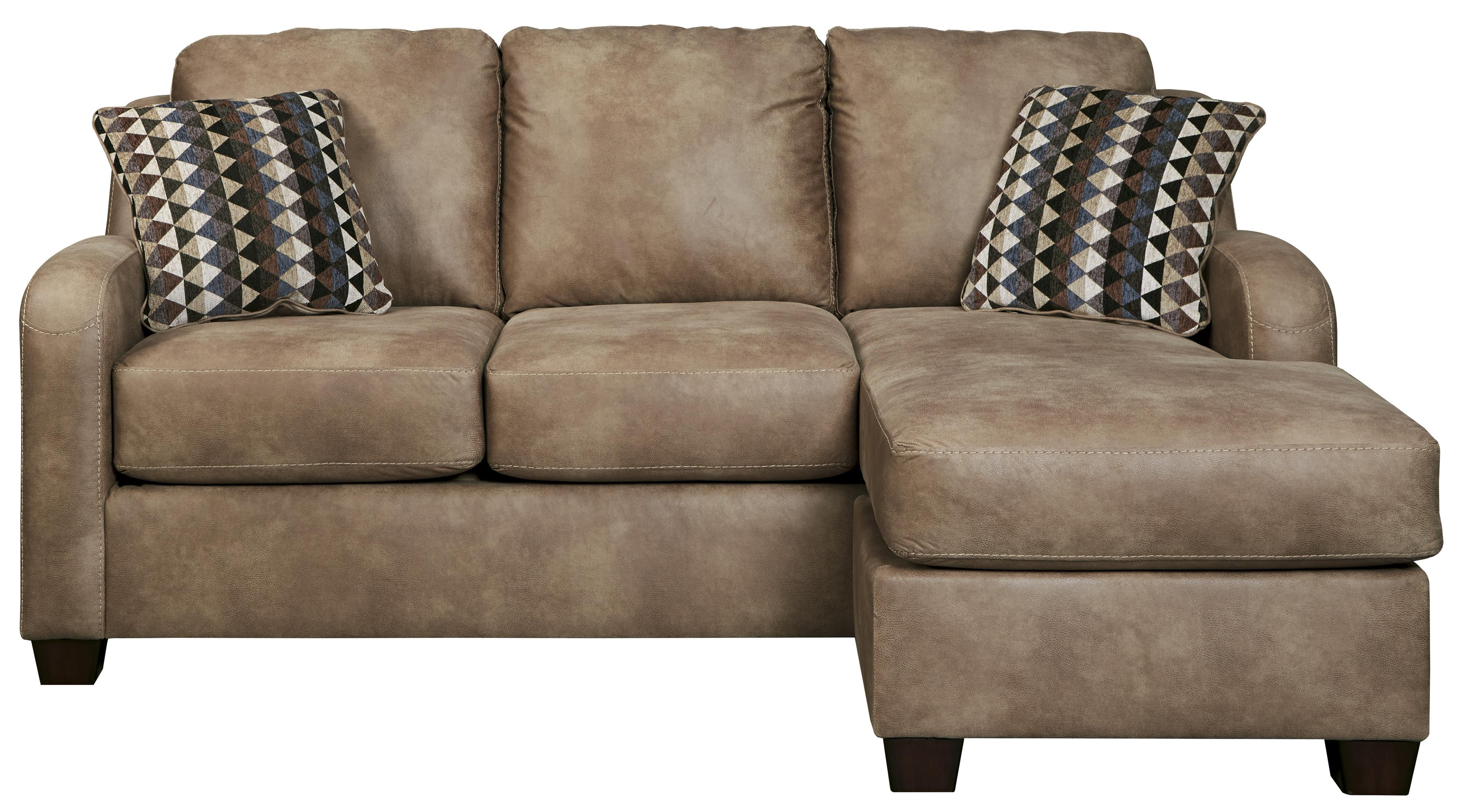 sleeper sofa chaise sectional cindy crawford benchcraft alturo 6000368 queen with