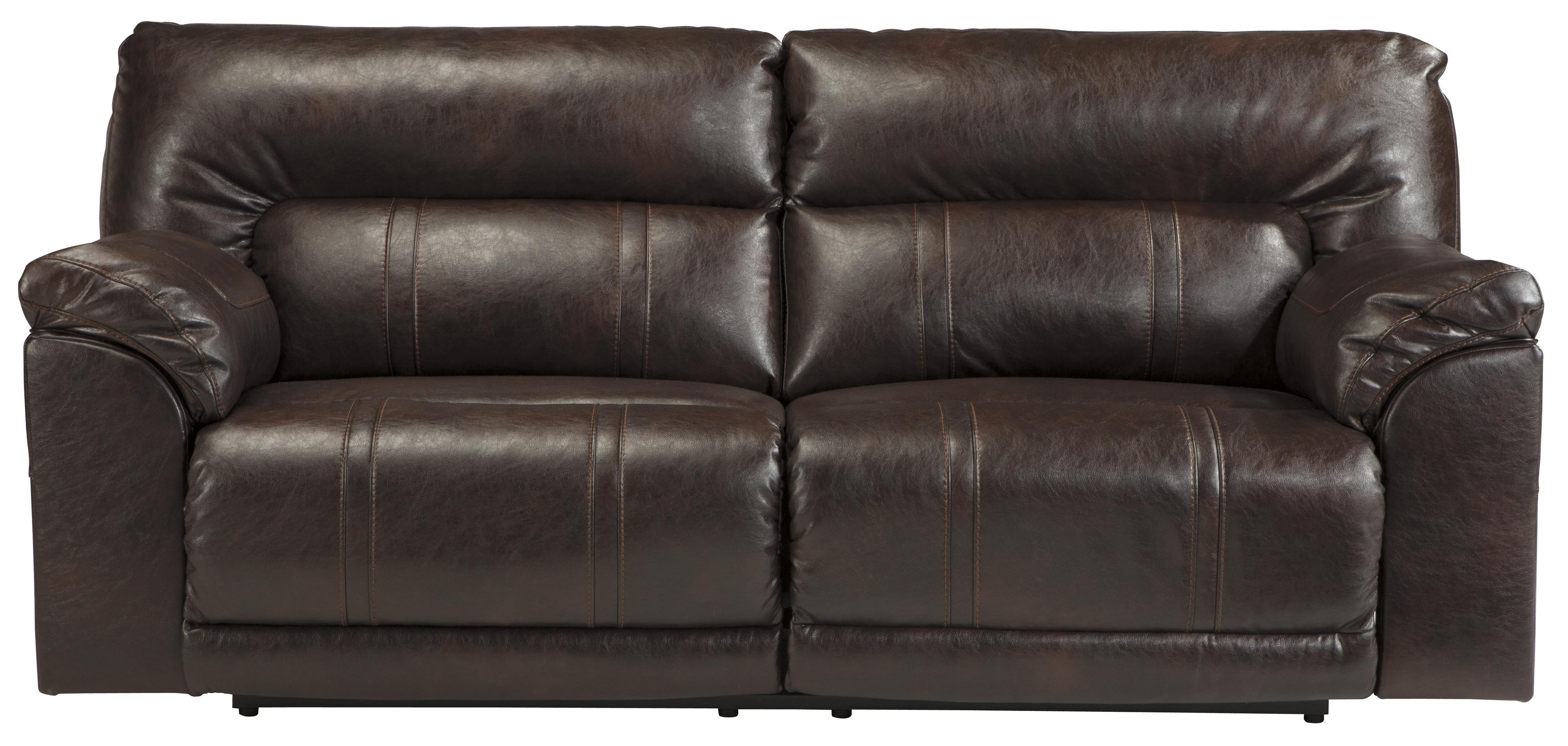 spartan sofa table benchcraft 4730181 bonded leather match 2 seat