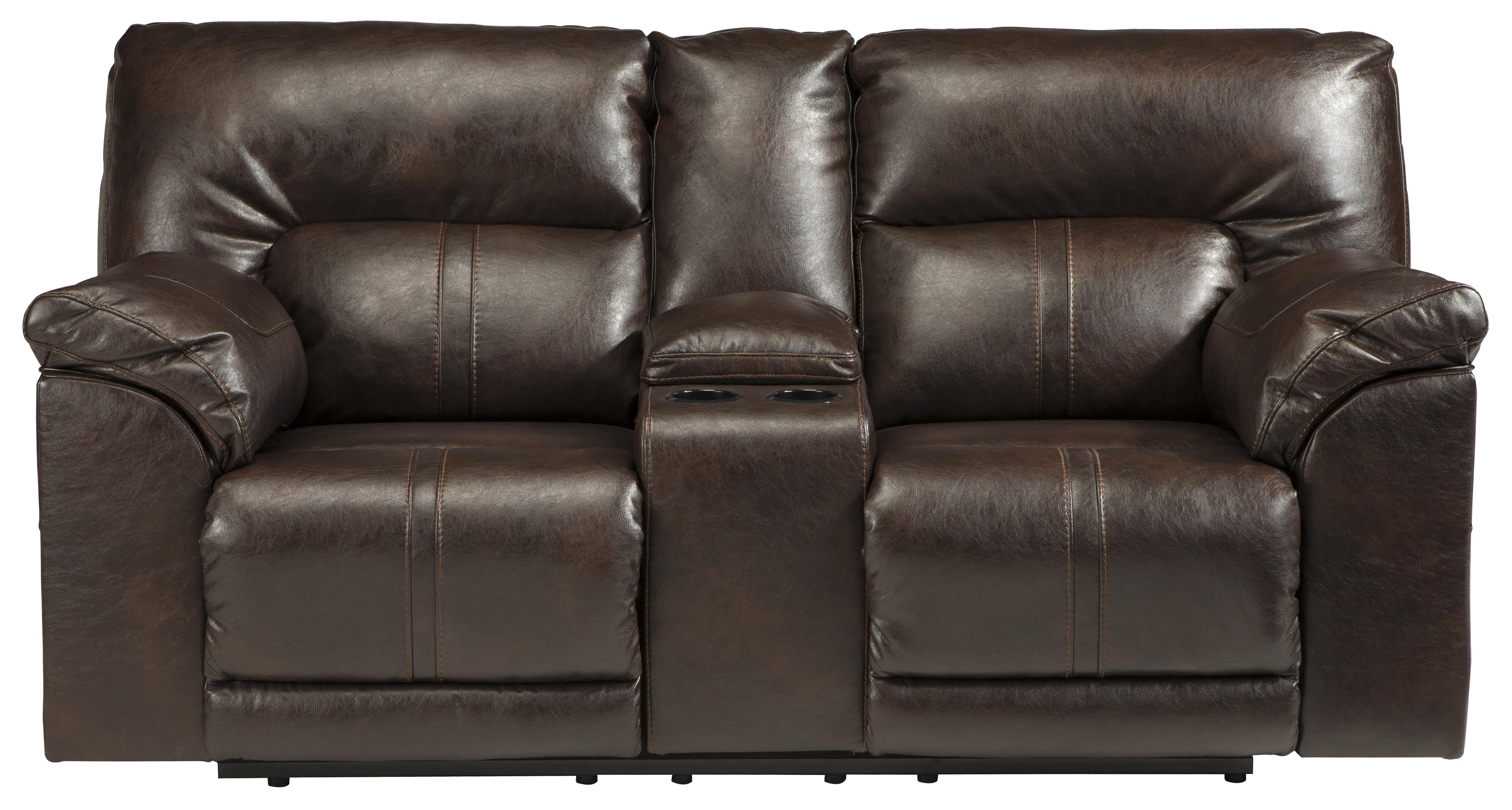 spartan sofa leather chesterfield austin tx benchcraft 4730194 double reclining loveseat w