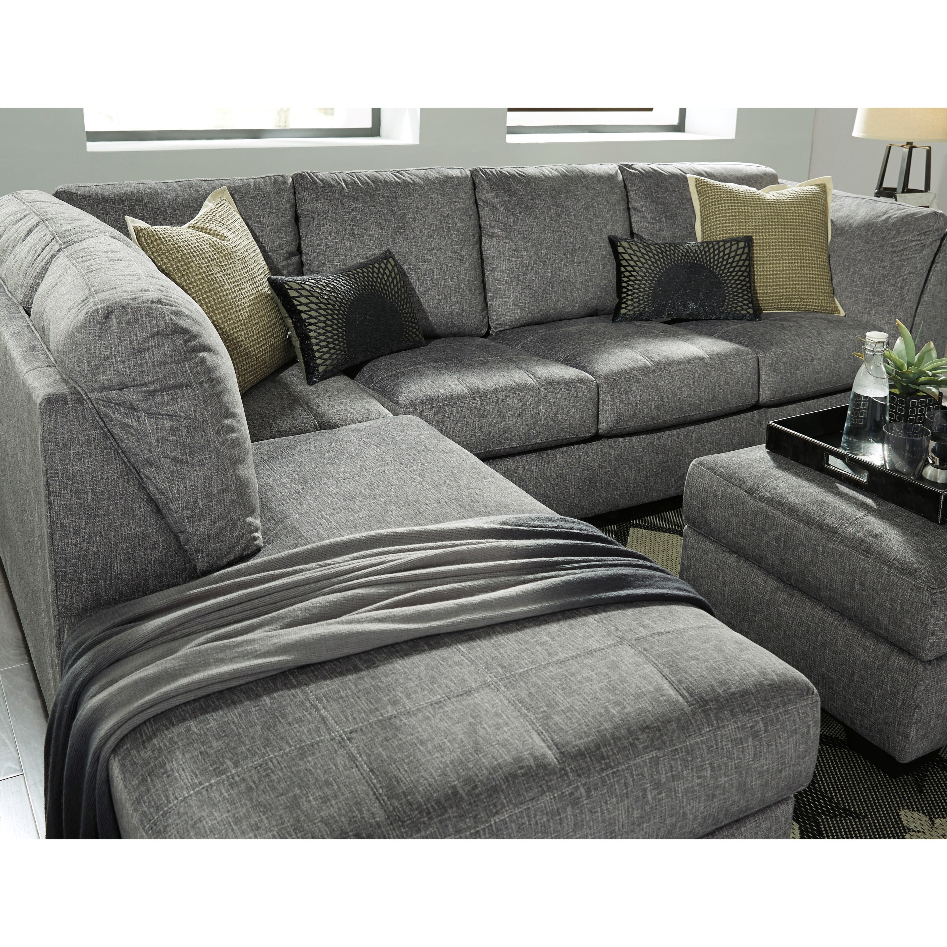 liberty 2 piece sofa and motion loveseat group in grey ashley premium italian leather benchcraft belcastel sectional with left chaise
