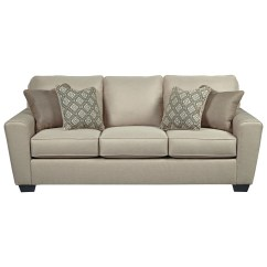 Sleeper Sofa Sectional Couch Cheers Benchcraft Calicho Contemporary Queen Value