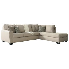Contemporary Chaise Sofa Company Swansea Benchcraft Calicho Sectional With Right