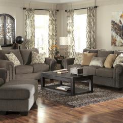 Martha Stewart Sofa Saybridge Review Fold Down Beds Uk Benchcraft Emelen Transitional Chair And A Half Ottoman