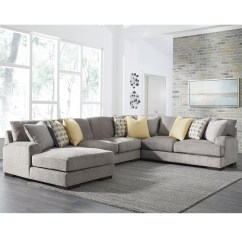 4 Piece Recliner Sectional Sofa 66 Benchcraft Fallsworth Contemporary