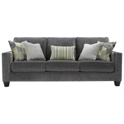 Nailhead Trim Sofa Ashley Beautiful Sets Benchcraft By Gavril Contemporary Queen