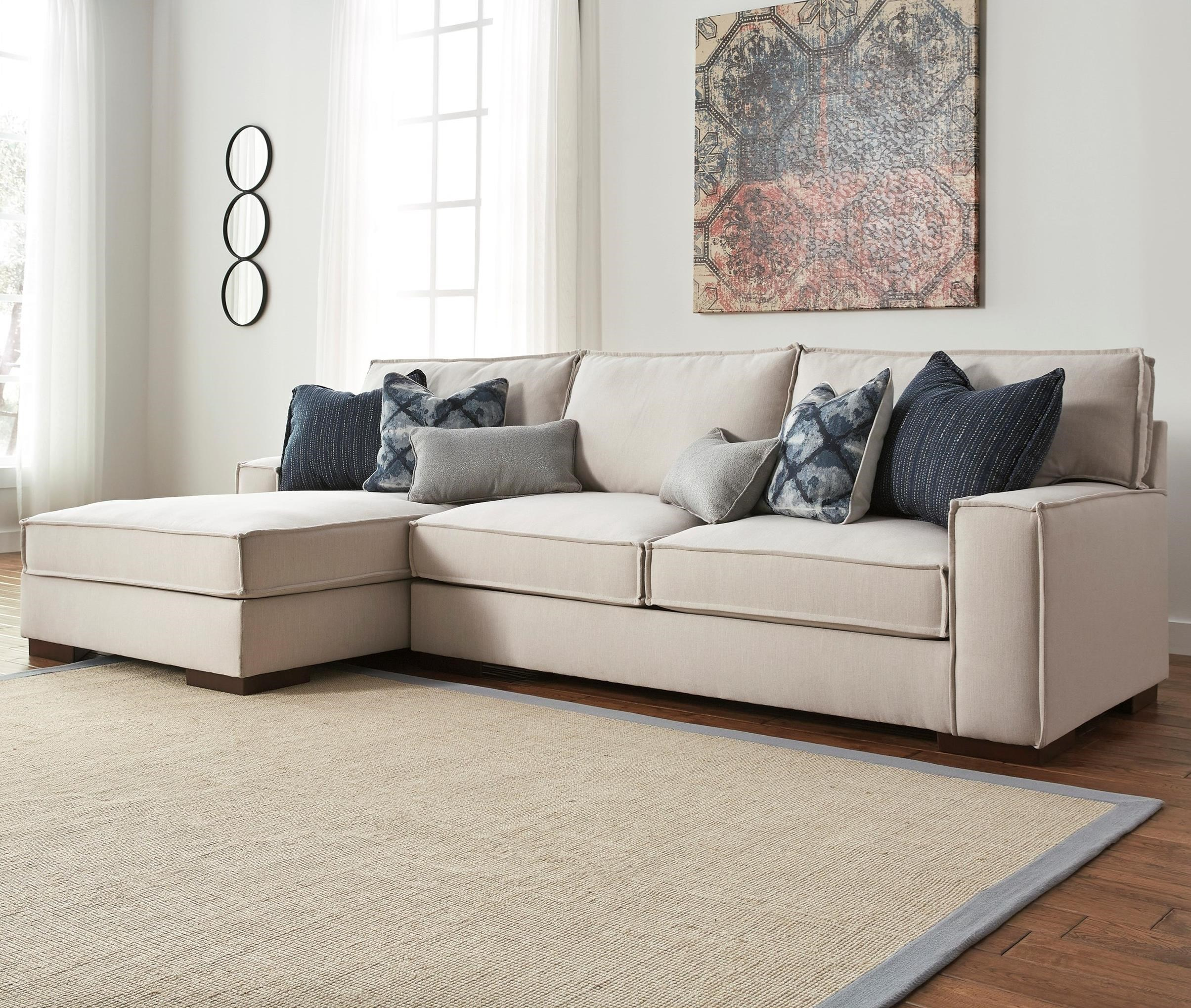 martino leather chaise sectional sofa 2 piece apartment and swedish design benchcraft kendleton modern with left