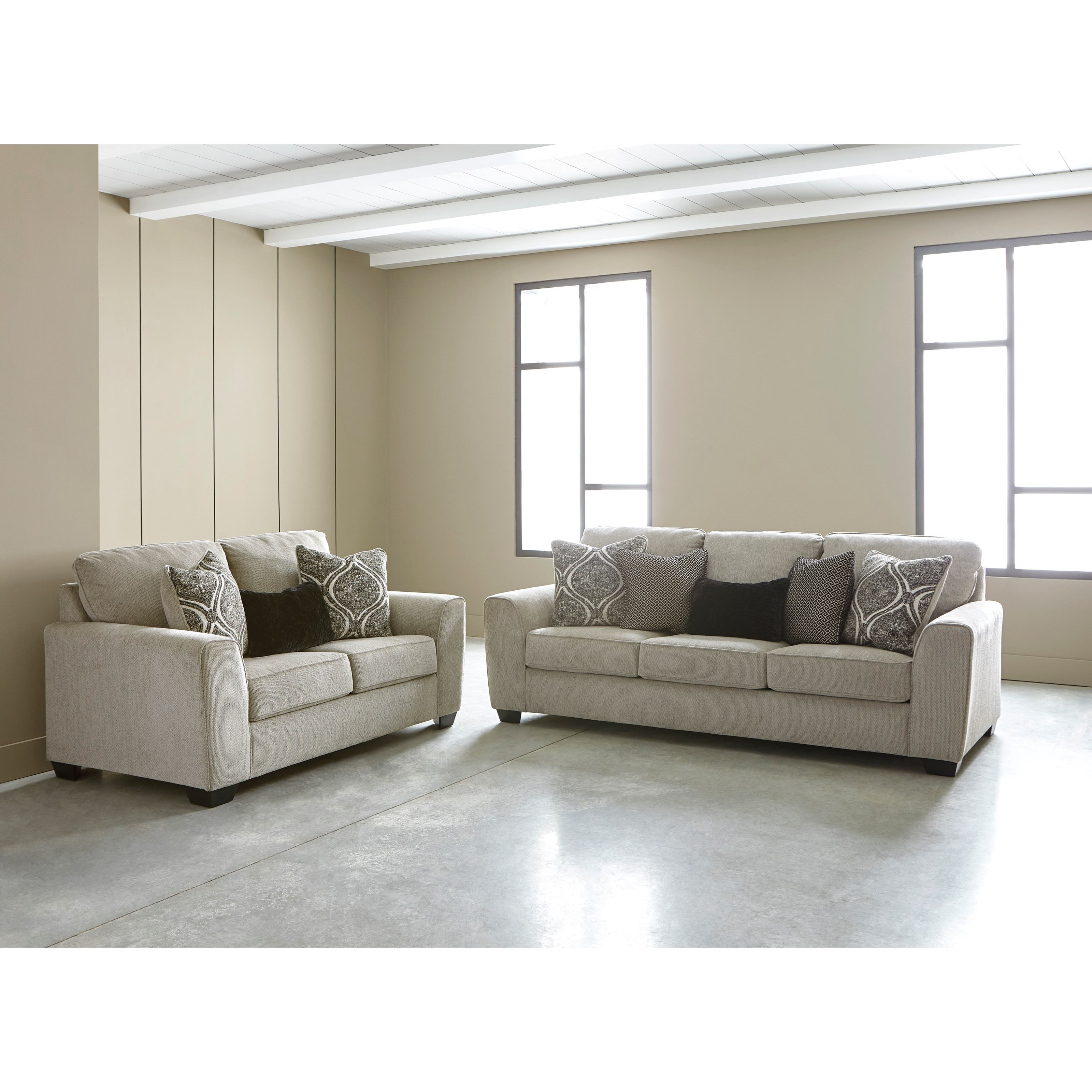 Astonishing Benchcraft Gavril Contemporary Queen Sofa Sleeper With Uwap Interior Chair Design Uwaporg