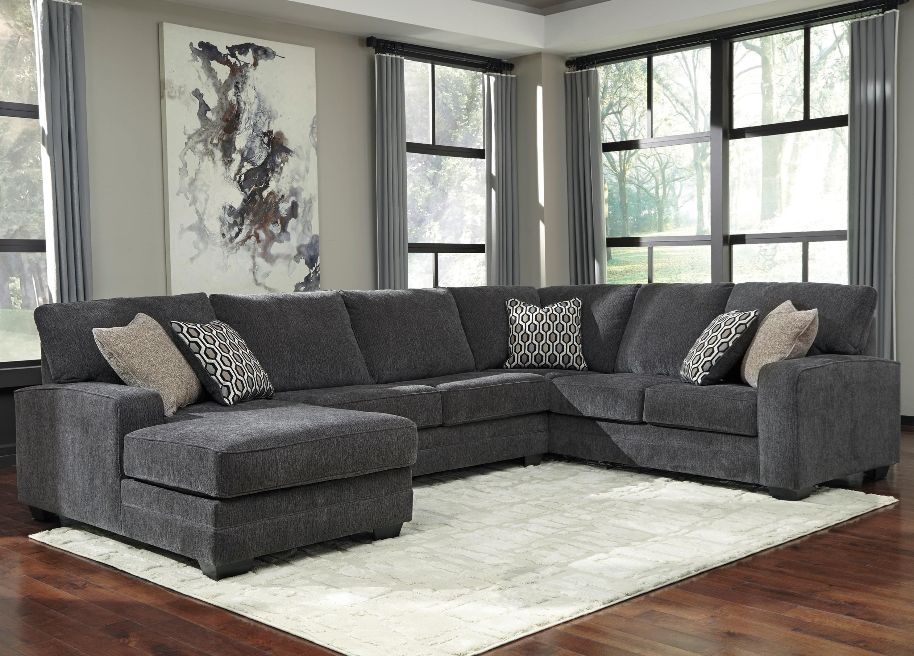 sofa deals nj outdoor wicker cushion set benchcraft tracling contemporary sectional with left