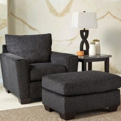 Ashley Chair And Ottoman Covers Rental In Brooklyn Benchcraft By Wixon With Rounded Track Arms